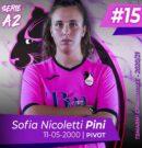"""Nicoletti Pini: """"I miei obiettivi? Gli stessi della squadra….Vincere!"""""""